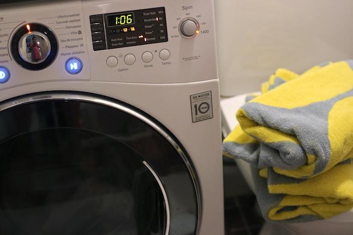 Pesukoneen rummun irtoaminen