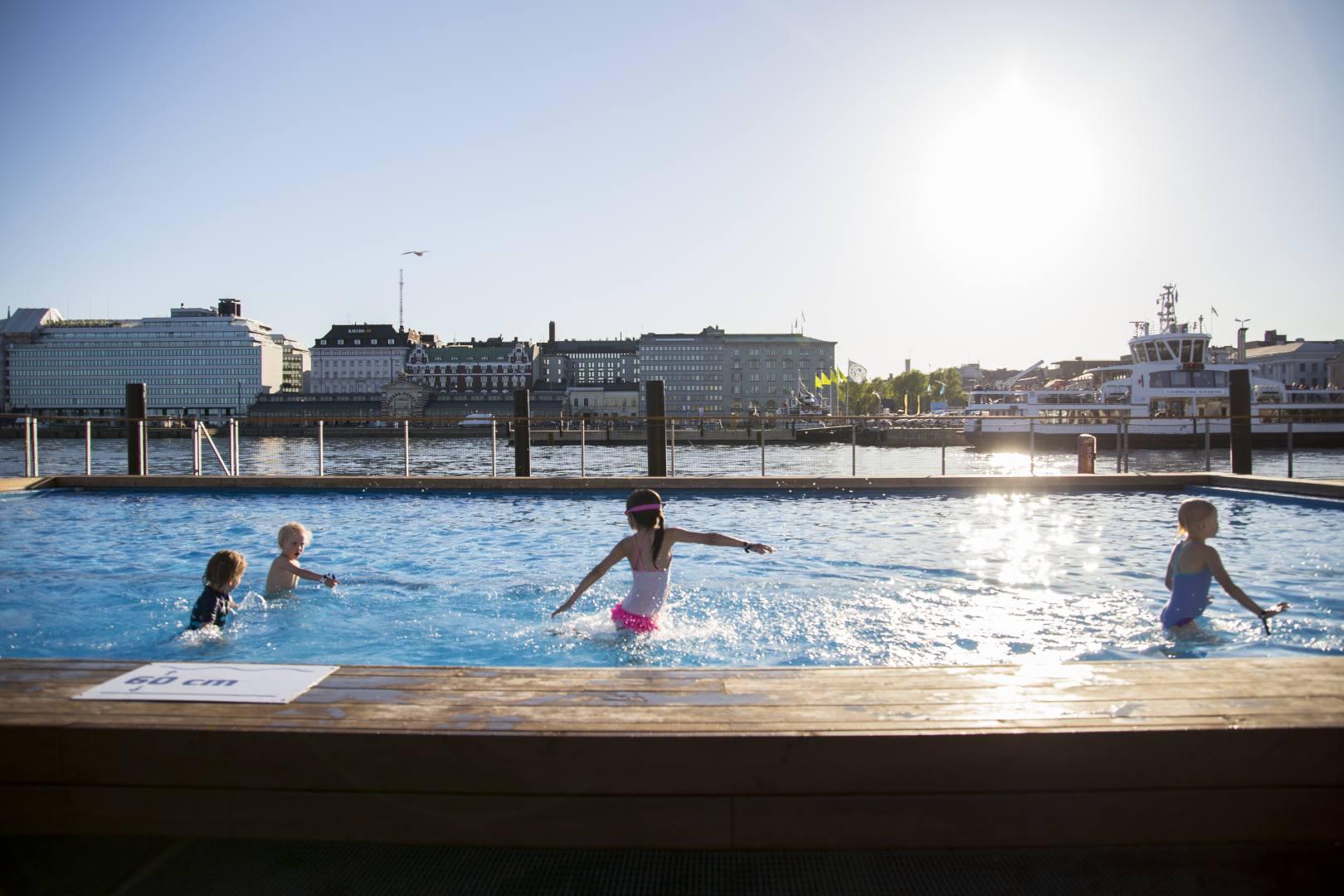 ©Lahiomutsi Allas Sea Pool Helsinki Suomi Finland Lasten uintileirit Kesaleirit-9204