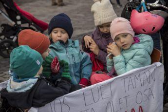 ©Lahiomutsi Ilmastomarssi Ilmastonmuutos Mielenosoitus Helsinki-8538