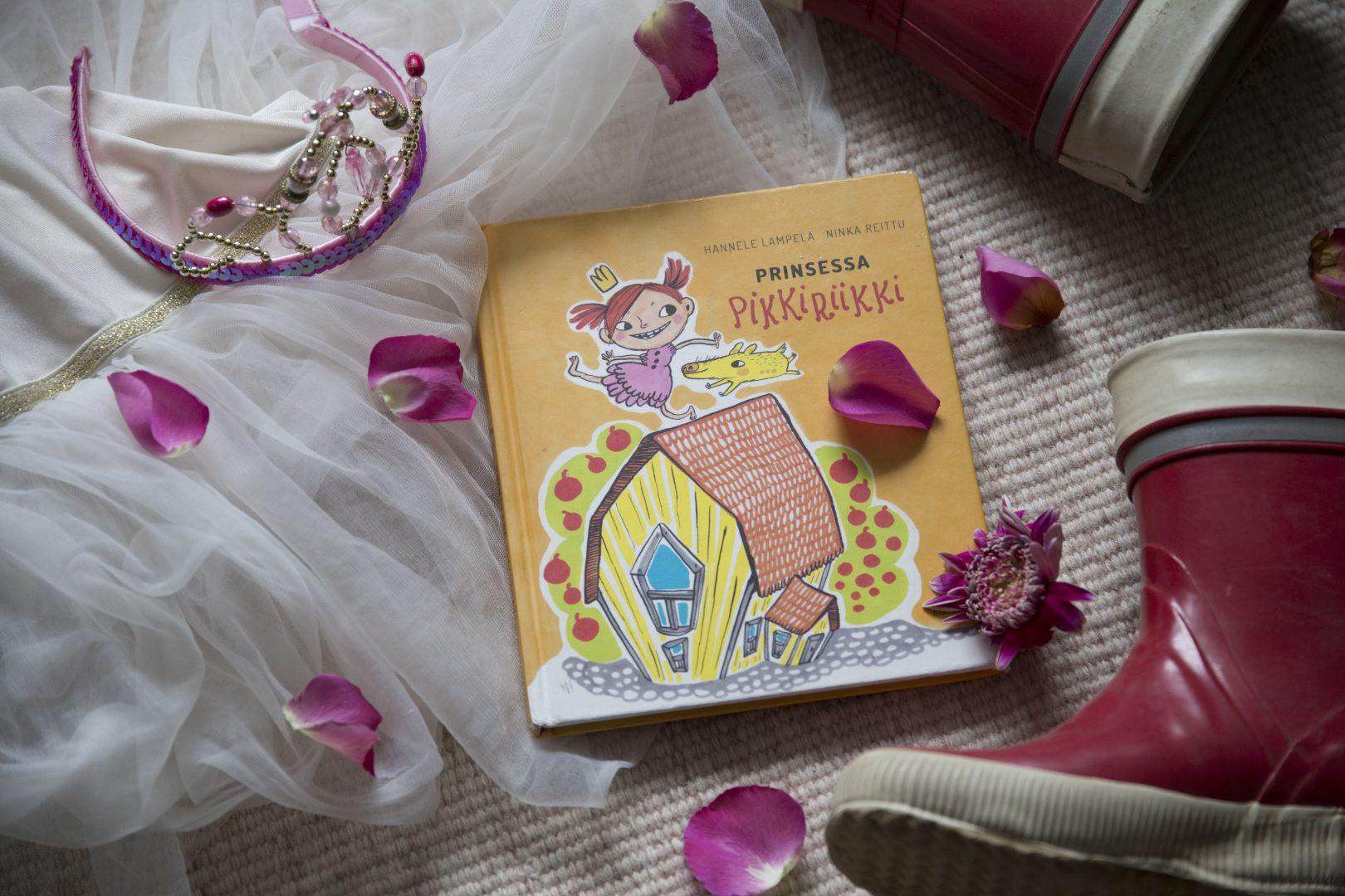 ©Lahiomutsi Prinsessa Pikkiriikki Lastenkirja Kirja Kirjallisuus Lasten-8604