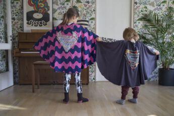Lahiomutsi Supersankari Viitta Lapselle Ompele Ohje Ompelu Tee Itse DIY-9050