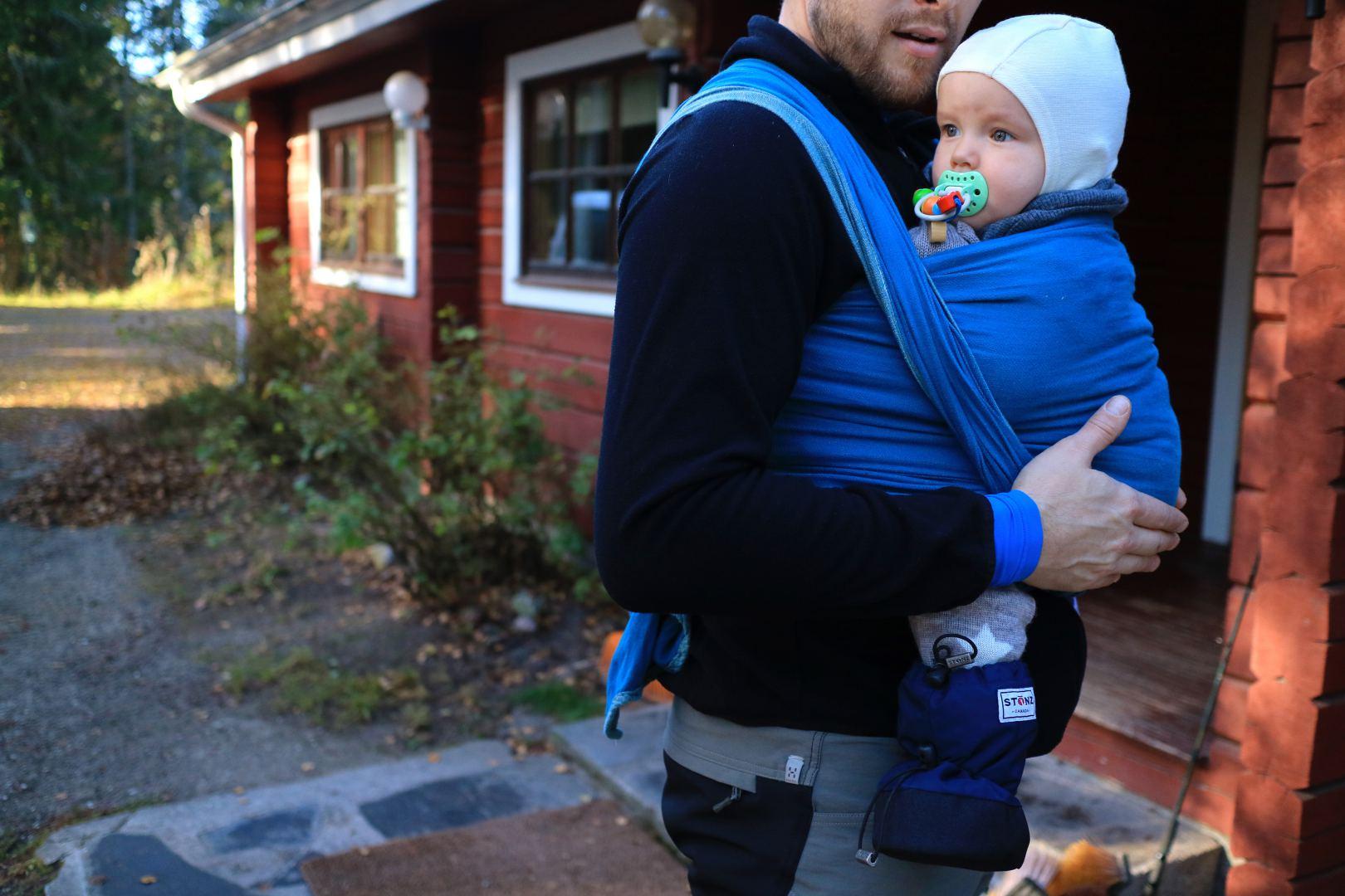 Isä 36 v. (lapsi 2,5 kk) Leikkipuiston vauvaperhetoiminnasta ajattelin, että siellä on taas joku luento asioista.